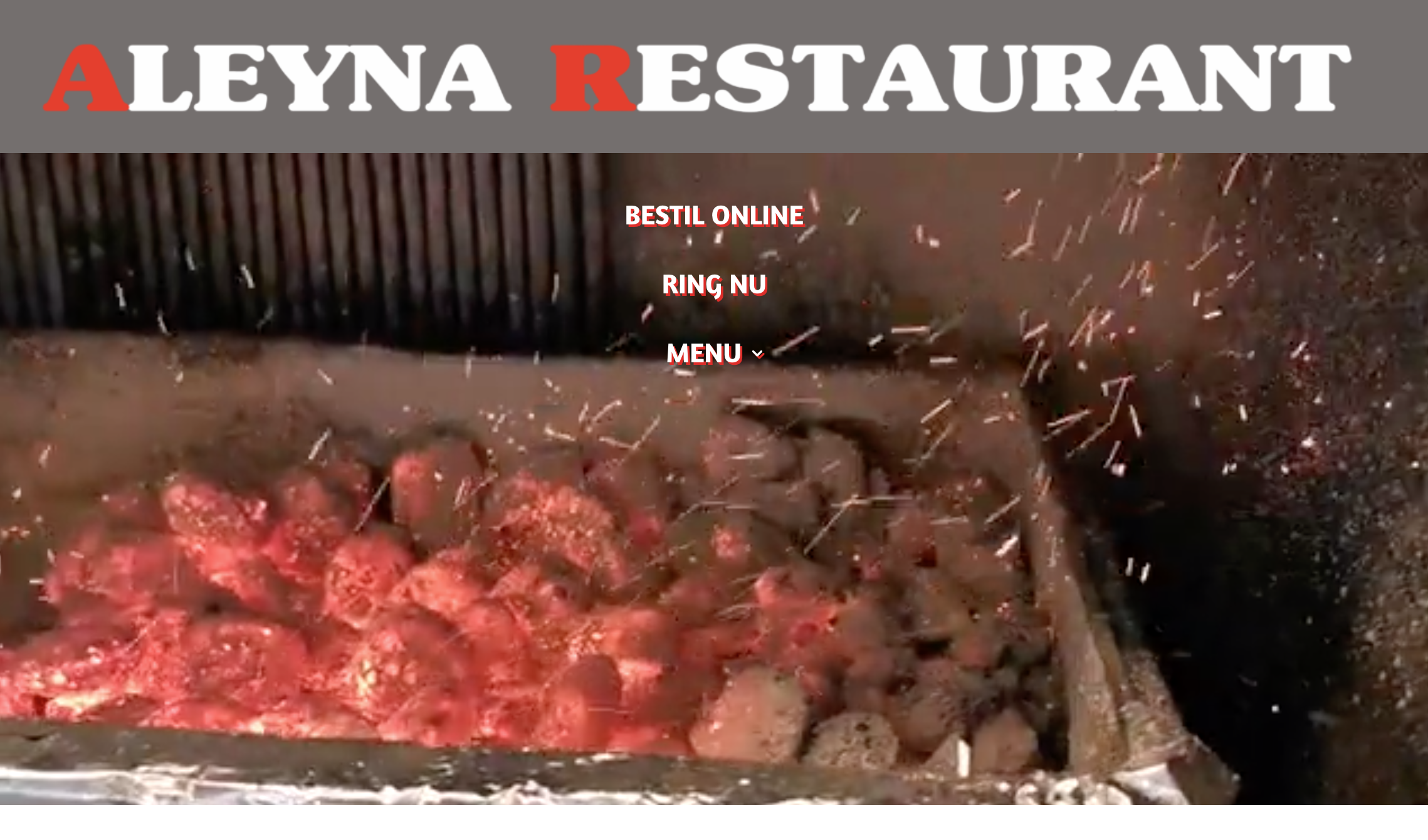 Aleyna Eda's restaurant, wordpress, divi